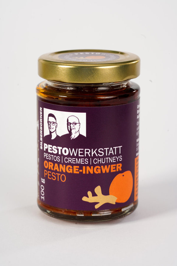 Tomaten Pesto - Orange Ingwer